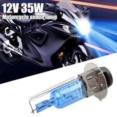 Vehemo 35W Xenon Bulb Motorcycle Xenon Light Replacement Xenon Headlight for Quad Scooter Front Lamp ATV for Car Styling Sale Only For US $1.31 on the link Motorcycle Store, Motorcycle Lights, Xenon Headlights, Atv, Quad, Bulbs, Automobile, Motorcycles, Bike
