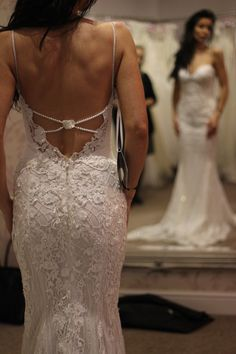 Galia Lahav has established itself as one of the leading couture fashion houses. See news, trends, and collection highlights with GL*M at Galia Lahav. Simple Dresses, Day Dresses, Bridal Dresses, Beautiful Wedding Gowns, Dream Wedding, Wedding Dress Trends, Wedding Ideas, Bridal And Formal, Boyfriends