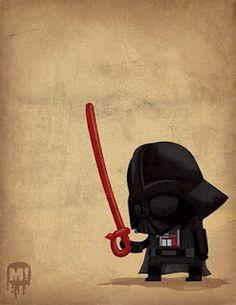 Star Wars, Darth Vader, balloon sword