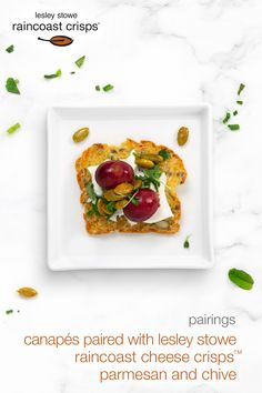 Parmesan, Cheese Crisps, Canapes, Tacos, Ethnic Recipes, Food, Side Dishes, Strawberry, Sofas