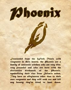 "Book of Shadows:  ""Phoenix,"" by Charmed-BOS, at deviantART."