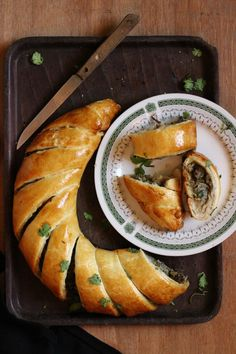 Beef Recpes : Quick Puff Pastry with Beef Filling Recipe