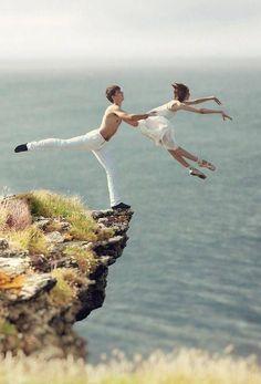 Don't let go...!