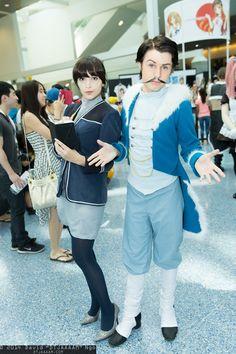 Zhu Li and Varrick (Avatar: Legend of Korra) | Anime Expo 2014 #DTJAAAAM