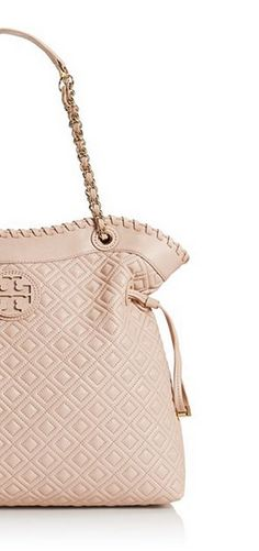 Quilted tote.