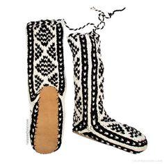 Wool Mukluks Slippers