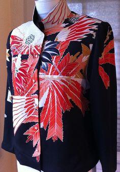 patchwork jacket by Ann Williamson