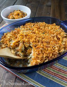 Crunchy Chicken and Wild Rice Casserole