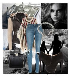 """""""Untitled #30"""" by martina215 ❤ liked on Polyvore featuring Black Rivet, Relaxfeel, Valentino, Sweet Romance, Giuseppe Zanotti, women's clothing, women's fashion, women, female and woman"""