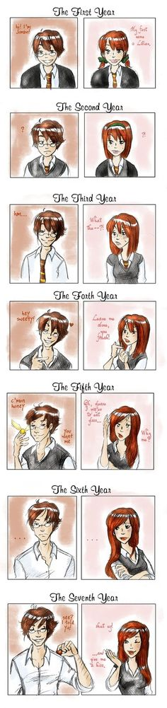 James and Lily Potter