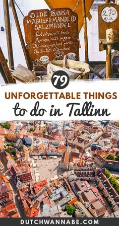 Looking for top things to do in Tallinn, Estonia? My ultimate Tallinn bucket list includes interesting activities and ideas for fun things to do in Tallinn for the culture buffs, architecture lovers, adventure seekers and foodies! Choose your favorite way of exploring and get to know local Estonian food, best Tallinn museums and even go on a scavenger hunt through the Old Town! via @dutchwannabe