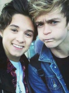 Brad and Connor. The Vamps