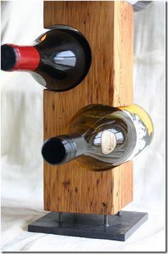 7 lindos suportes para garrafas de vinho : Oficina 44