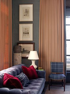 Изысканная современная классика от дизайнера из Нью-Йорка Michael Aiduss | Пуфик - блог о дизайне интерьера