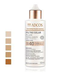ADCOS :: Filtro Solar FPS 40 Fluid Tonalizante 50 ml - Adcos