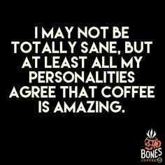 I love coffee and I do too. #coffee #strawberrycheesecake bonescoffee.com #CoffeeHumor