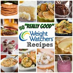 "Here are 50 ""Really GOOD"" Weight Watchers Foods Recipes!  I've only listed the TOP RECIPES that have rated really well!!!"