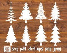 Christmas Tree Stencil, Christmas Tree Kit, Christmas Tree Silhouette, Christmas Tree Template, Christmas Decals, Christmas Tree Pattern, Christmas Paper, Christmas Design, Christmas Crafts
