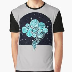 Artists-shop Shop | Redbubble Pulp Fiction Shirt, Coconut Octopus, Sleep Band, Colorful Jellyfish, Astronaut, Science Fiction, Artists, Mens Tops, Shirts