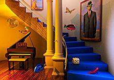 Surrealist fishtank....? Here I come.