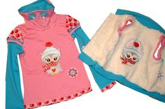 Weste für Mädchen mit Shirt  Gr.122/128 von C-Fashion-Design auf DaWanda.com