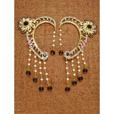 Designer Beautiful Indian Stone Studded Earrings  - 85381 ( SD-Stone Earrings )
