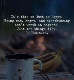 Positive Quotes : QUOTATION – Image : Quotes Of the day – Description Its time to just be happy. Being sad angry and overthinking isnt worth it anymore. Sharing is Power – Don't forget to share this quote ! Life Quotes Love, Happy Quotes, Quotes To Live By, Positive Quotes, Best Quotes, Motivational Quotes, Inspirational Quotes, Life Qoute, Positive Thoughts