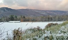 We received some #snow cover overnight at #TrappFamilyLodge!