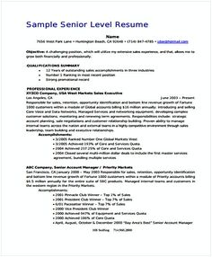 Sales Resume  Account Manager Resume Sample  If You Are Seeking