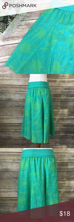 J. Crew Floral Skirt Super cute Floral Skirt. J. Crew Skirts A-Line or Full
