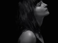 Lauren Mayberry of Chvrches - I love her voice & her music and she is just so beautiful. -  Leave A Trace video