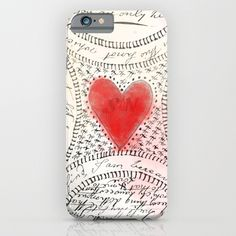 Love notes iPhone & iPod Case