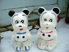 Antique Mickey / Minnie Mouse