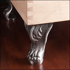 Cast-Iron Claw Feet - Hardware Furniture Hardware, Furniture Legs, California Apartment, Buffet Hutch, Storage Cubes, Lee Valley, Foot Pads, Tv Cabinets, Table Legs