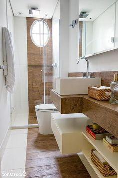 Revista Arquitetura e Construção - Banheiros práticos: 14 projetos com ótimos truques