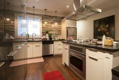 Kitchen, @Granite Transformations and Cyclone Range Hood, Income Property HGTV