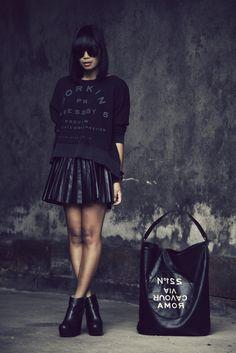 kendaatlarge:  mode junkie: black rut.  Black Girls Killing ItShop BGKI NOW
