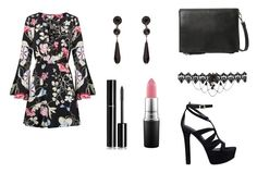 """Untitled #496"" by siwar123 ❤ liked on Polyvore featuring GUESS, MANGO, Givenchy, MAC Cosmetics and Chanel"