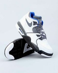 check out 7c320 ae1ad Nike Air Flight 89 - White   Dark Grey