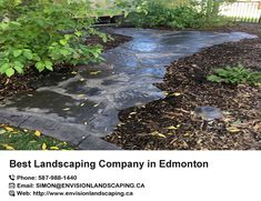 Find the #best #landscaping #companies in #Edmonton.Envision landscaping is your best friend in Sod installation & landscape design. We are experts in paving, sod delivery and irrigation in Edmonton. http://bit.ly/2IwmVhR