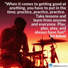 Words of Wisdom: 11 Drummers Share Their Best Advice for Beginners http://takelessons.com/blog/drummers-advice-for-beginners-z07?utm_source=social&utm_medium=blog&utm_campaign=pinterest