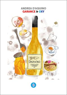 ANDREA D'AQUINO / Food Illustration / @ : oxy-illustrations@orange.fr