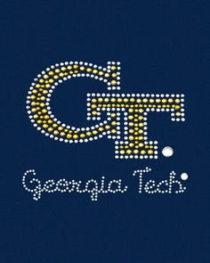 Yellow Jackets!! - Georgia Tech - Fashion Apparel for Girls. @Kaylie Naghshpour expect this stuff for your birthday.