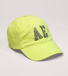 AE Logo Fitted Baseball Cap Fitted Baseball Caps 2a8179198b8a