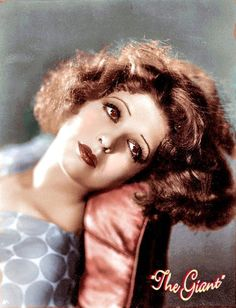 """The """"It Girl"""" of the 1920's, Clara Bow."""