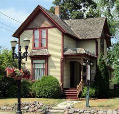 Folk Victorian House Plans New Ideas Victorian House Plans, Victorian Porch, Folk Victorian, Victorian Farmhouse, Victorian Cottage, Modern Victorian, Victorian Homes, Storybook Homes, Pole Barn House Plans