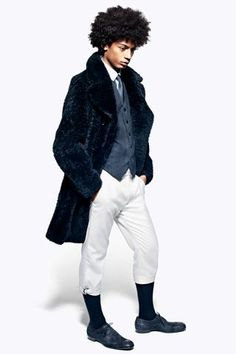 Alexander McQueen Fall 2012 Menswear Collection on Style.com: Runway Review