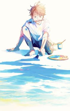 Illustration Pop Art, Character Illustration, Manga Art, Anime Art, Fantasy Art Landscapes, Anime Drawings Sketches, Boy Art, Cute Anime Guys, Anime Scenery