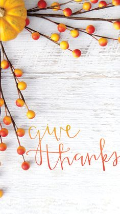 GIVE THANKS wallpapers for digital devices