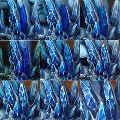 Crystal painting tutorial by kaha